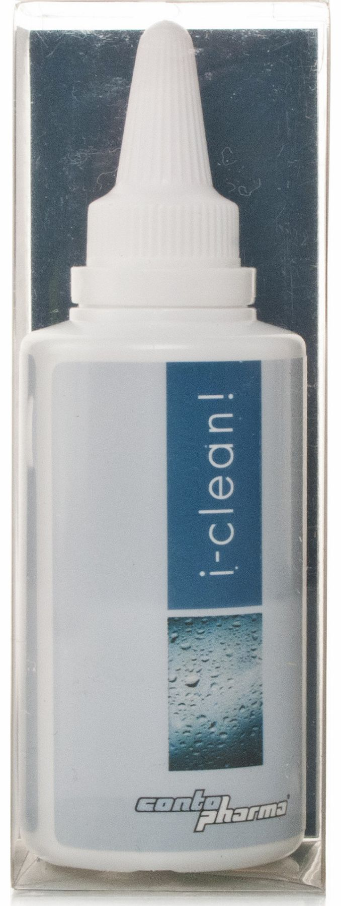 i-clean Daily Cleaner is the ideal non-abrasive daily cleaning solution for both RGP and soft contact lenses.The aqueous-alcoholic surfactant system in i-clean is the optimal formula for removing protein deposits from cell membranes adhering to the s