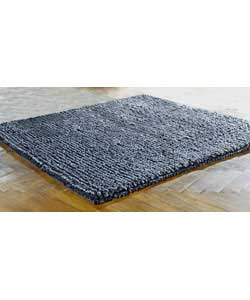 Unbranded Inspire Collection Shaggy Grey Rug