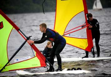 Introduction to Windsurfing for Two in Gwynedd (Half Day) product image