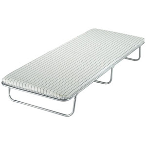 The Alloy Popular is part of the Folding Bed range Comfortable foam mattress Alloy finish frame - CLICK FOR MORE INFORMATION
