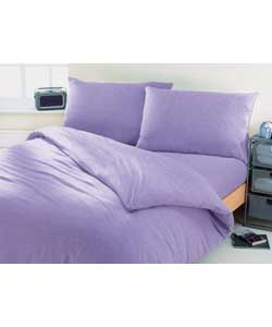 jersey king size bed set lilac bedding review compare prices buy online. Black Bedroom Furniture Sets. Home Design Ideas