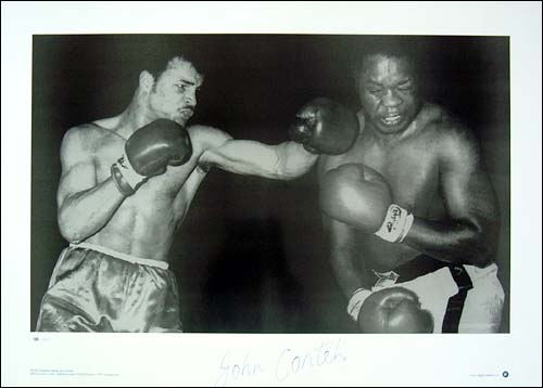 Unbranded John Conteh signed limited edition photographic print - WAS andpound;24.99