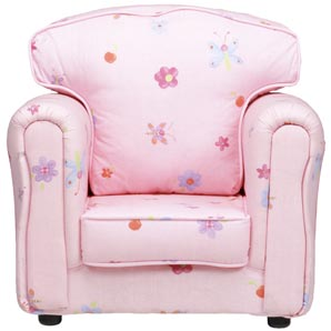 Kids Armchair Flower Time Childrens Furniture Review
