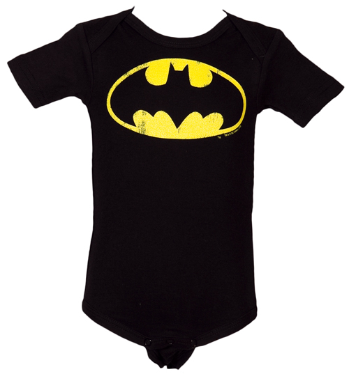 Kids Batman Logo Babygrow Review Compare Prices Buy Online