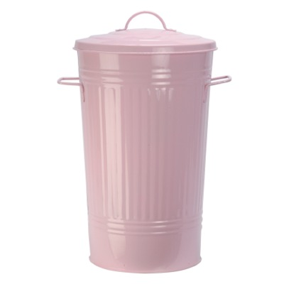 Kitchen waste bin pink kitchen bin review compare for Pink bathroom bin