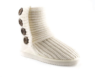 Unbranded Knitted Mid High Boot