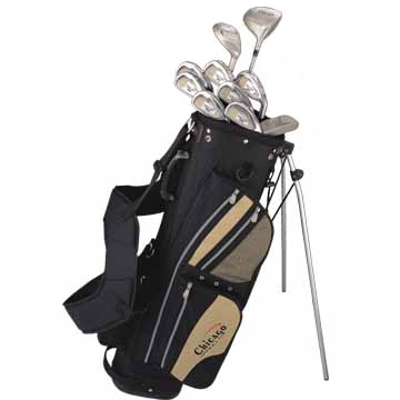 NEW       IN BOX           Chicago Golf `SGS` Ladies Complete Golf Set inc Free BagDesigned for Star