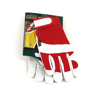 These strong and durable gloves are made with a soft leather palm for outstanding comfort and fit -