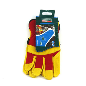 These Deluxe Soft Leather gloves feature a nylon back and high quality soft leather palm for greater