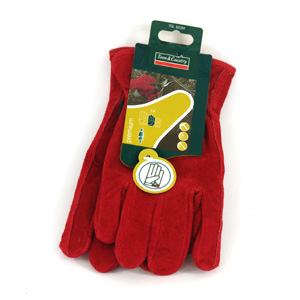 These high quality gardening gloves are made from comfortable suede leather with a soft fleece linin