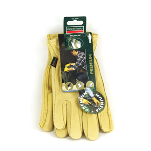 These premium leather gardening gloves are tough and hard-wearing  whilst also offering softness and
