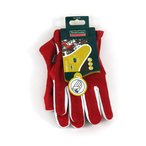 These premium leather  two-tone suede leather gloves are supple yet hard-wearing. They also feature