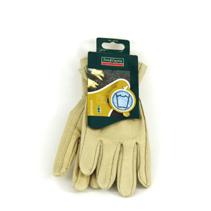 These washable leather gloves are made from a soft  supple leather for hard-wearing protection in th