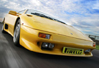 Three laps of one of the most famous circuits in the UK is a treat in itself but with a Lamborghini