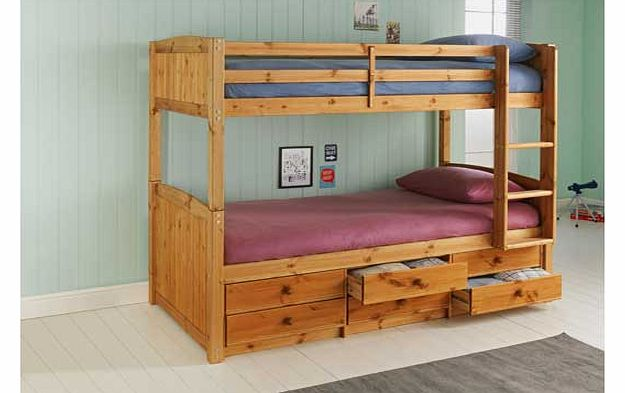 Pine Bunk Bed Frame 625 x 393
