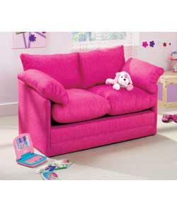 Lia Foam Fold-Out Sofabed - Pink Sofa Bed - review, compare prices