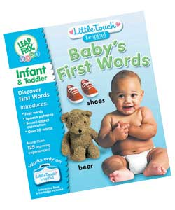 Interactive games and music will delight your little one in this talking; word book that introduces