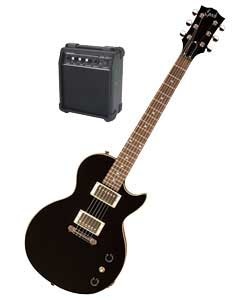 Maestro By Gibson Epoch Lp Guitar Black Review Compare Prices