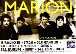 MARION Toys For Boys Tour Music Poster 84x59cm