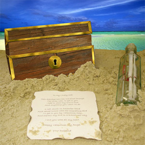 Message in a Bottle (Personalised Gift) product image