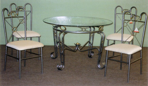 Miami Glass Dining Set
