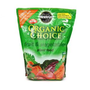 Miracle Gro Organic Choice Plant Food Ingredients