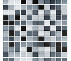 Create a luxurious feature in your home with Mixed Glass BlackWhite MosaicThis black and white glass mosaic is ideal for giving a modern twist to the average kitchen or bathroom providing subtle yet striking design possibilitiesMosaics provide unlimi