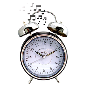 Wake up to the sound of your favourite song or sound with this retro styled MP3 Alarm Clock . A mode