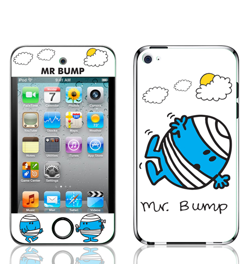 Unbranded Mr Bump Iphone 4 Skin