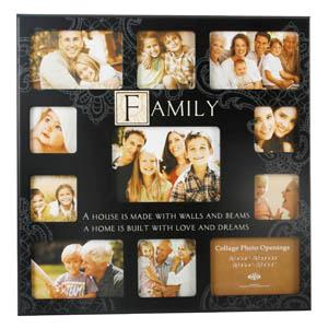 Unbranded Multi Collage Photo Sentiment Family Photo Frame