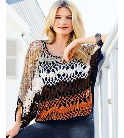 Unbranded Multi Crochet Top