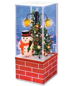 Snowing Christmas Decoration Musical