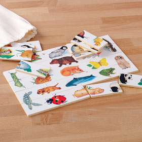Animal Jigsaws And Puzzles