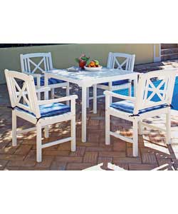New England 4 Seater Patio Set Garden Furniture Review Compare Prices Buy Online