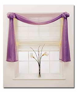"TLC Home ""How to Hang a Window Scarf"""