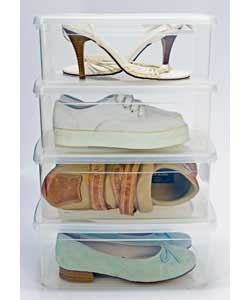 Pack of 4 Shoe Boxes product image