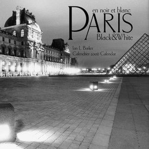 Paris Black & White Calendar