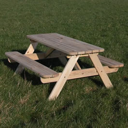 Free picnic table project plans - Things to build
