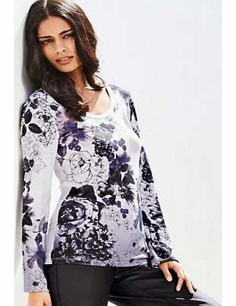 Unbranded Placement Print Top