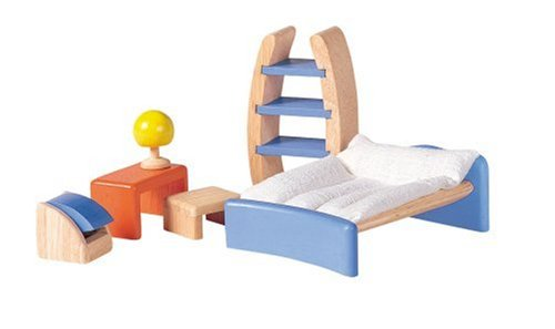 Plan Toys: Childrens Room - Decor (Wooden Dollhouse Furniture)- Plan Toys