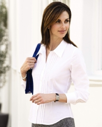 Pleat Front Shirt product image