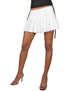 Pleated Tennis Mini Skirt Size 12 product image