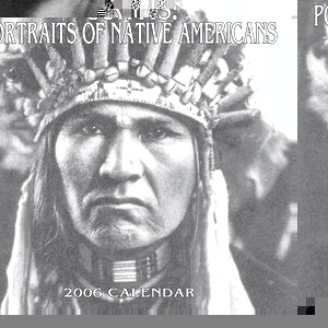 Portraits of Native Americans: Calendar