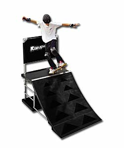 Rampage Skateboard Quarter Pipe