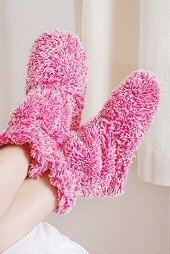 Really Cosy Boots Pink product image