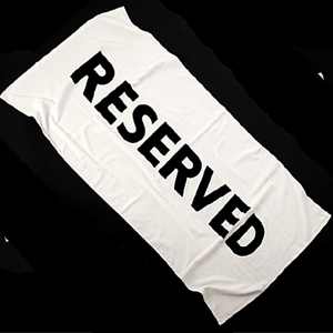 Reserved Beach Towel product image
