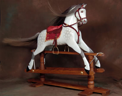 Ringinglow Wooden Rocking Horse