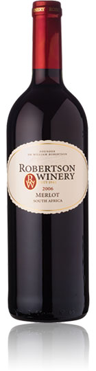 Unbranded Robertson Winery Merlot 2007 Robertson (75cl)