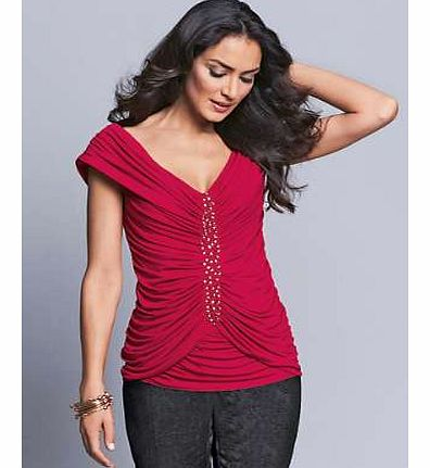 Unbranded Ruched Top