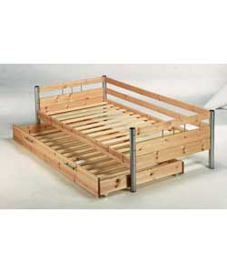 Sahara Single Daybed Trundle Frame Only Guest Bed Review